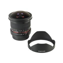 Samyang 8mm F3.5 CSII Fisheye SO