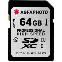 AGFA SD-KORT 64GB (HIGH SPEED CLASS 10)