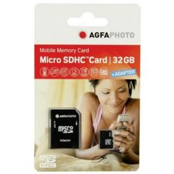 AGFA SD-MICRO 32GB M/ADAPTER CLASS 10