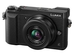 PANASONIC LUMIX GX80 M/ 12 - 32mm SORT