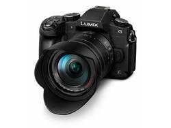 PANASONIC LUMIX DMC-G80 m/14-140mm SORT