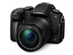 PANASONIC LUMIX DMC-G80 m/12-60mm SORT