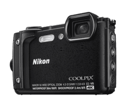 NIKON COOLPIX W300 SORT