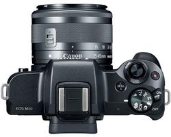 Canon EOS M50 Sort m/15-45mm