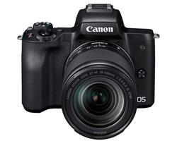 Canon EOS M50 Sort m/18-150mm