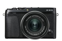Fujifilm X-E3 Kit XC15-45mm OIS PZ Sort *Cashback 750,-