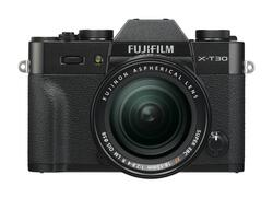 Fujifilm X-T30 Kit XF18-55mm f/2.8-4 R Sort