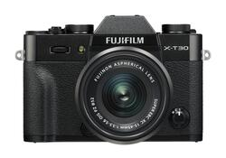 Fujifilm X-T30 Kit XC15-45mm OIS PZ Sort *Cashback 500,-