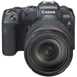 Canon EOS RP m/  RF24-105MM f/4L IS USM + EF-EOS R Adapter