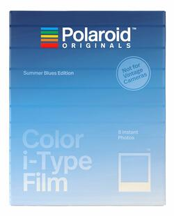 POLAROID ORIGINALS COLOR FILM I-TYPE SUMMER BLUES