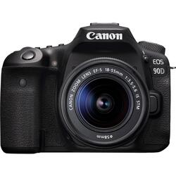 Canon 90D m/18-55mm IS STM