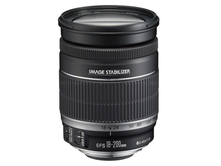 Canon EF-S 18-200mm f/3.5-5.6 IS * 670,- CASHBACK