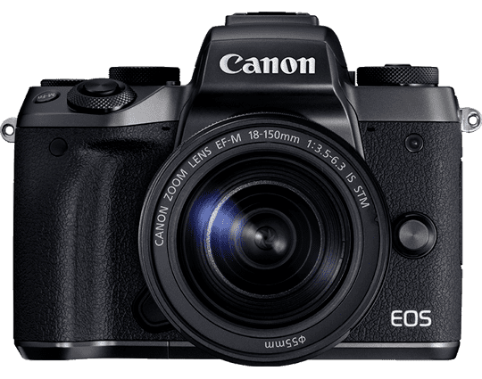 CANON EOS M5 M/15-45MM IS STM F/3.5-6.3 * 670,- CASHBACK