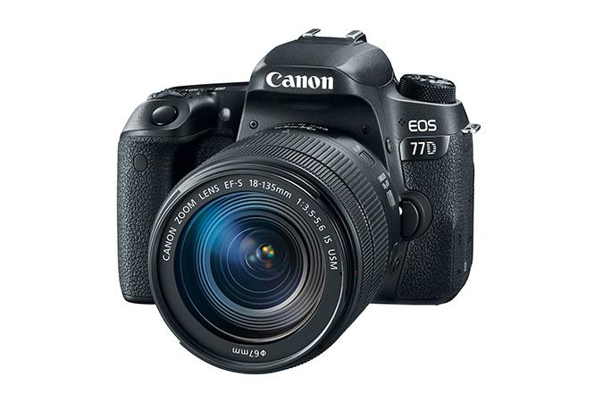 Canon EOS 77D m/18-135MM IS STM
