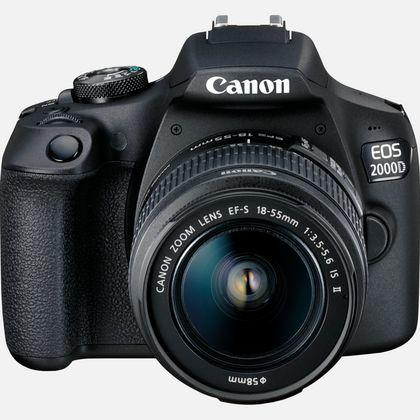 Canon EOS 2000D M/18-55MM IS II SORT Wi-fi, NFC