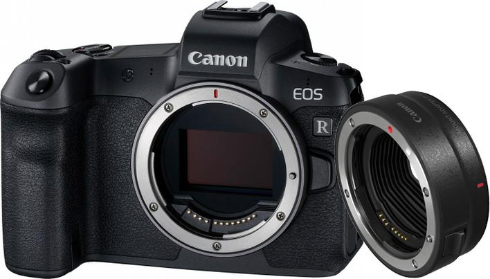 CANON EOS R HUS M/ EF-EOS R Adapter * CASHBACK 1.500,-