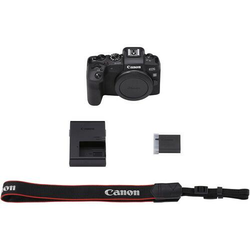 Canon EOS RP-hus m/ EF-EOS R Adapter