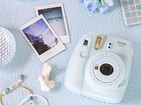 FUJIFILM INSTAX MINI 9 ICE BLUE Inkl. Film