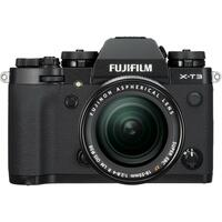 Fujifilm X-T3 Kit XF18-55mm f/2.8-4 R Sort